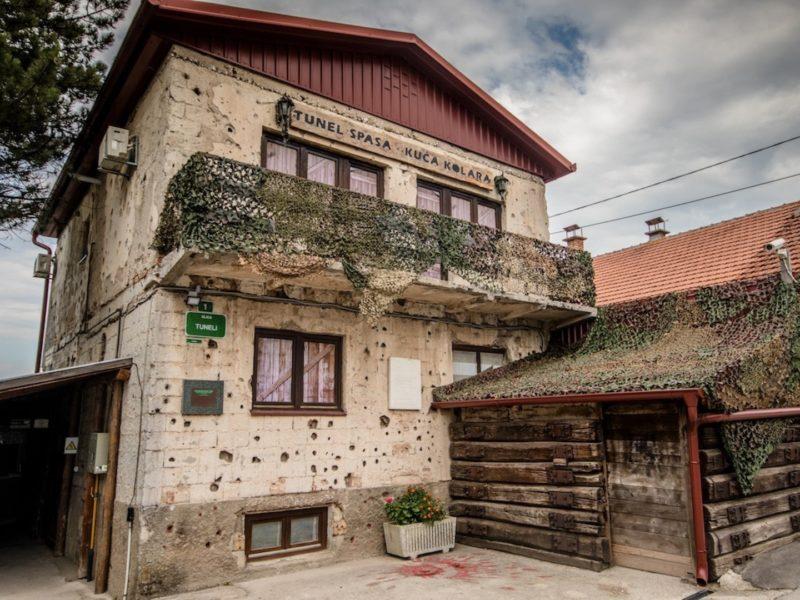 sarajevo war tour